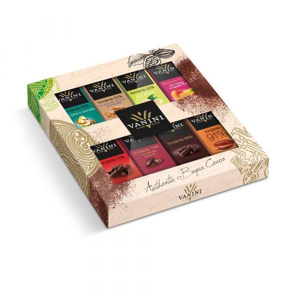 8 Chocolatinas en estuche de regalo de Vanini gourmet leon
