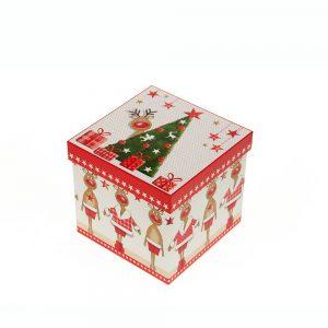 Lata bombones chocolate belga navidad