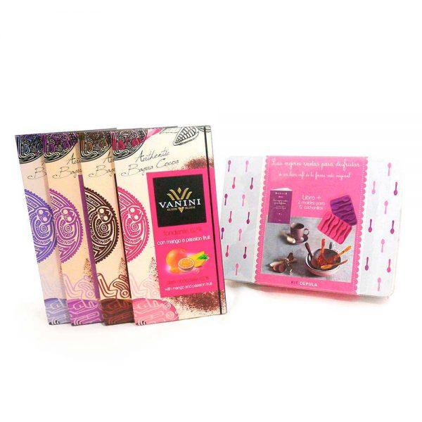 Pack de regalo chucharitas de chocolate gourmet