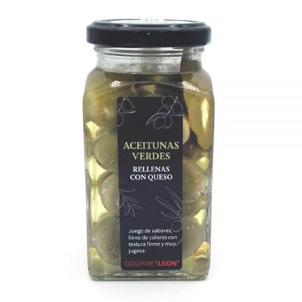 aperitivos con queso aceitunas rellenas gourmet leon