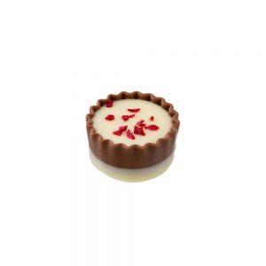 Bomboneria Chocolates | Bombón crema de frambuesa