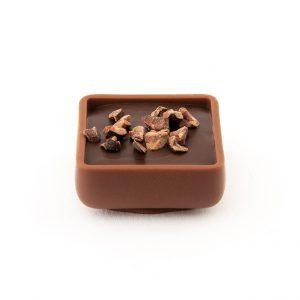 Bombón ganache de chocolate gourmet leon