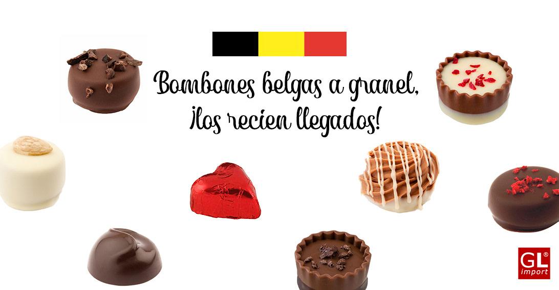 bombones belgas a granel