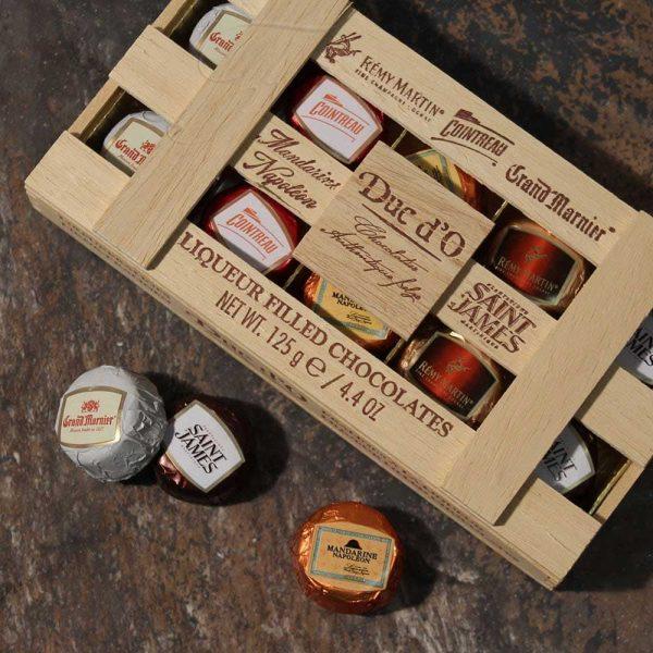 bombones de licor ducdo regalo para amantes del licor gourmet leon