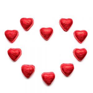 bombones corazon de chocolate belga gourmet leon