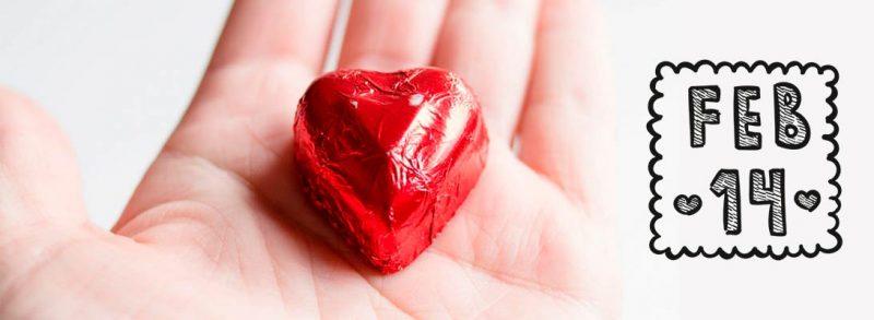 ¿Un regalo para tu novio? Chocolate para San Valentín