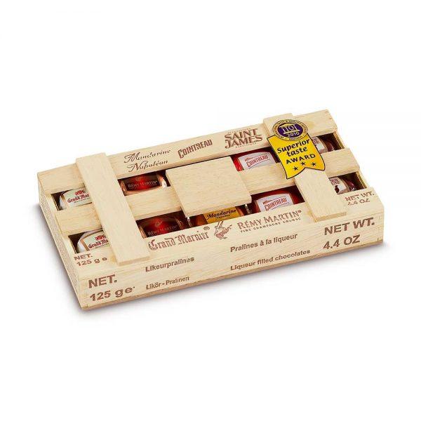 bombones de licor duc d'O regalo para amantes del ron gourmet leon