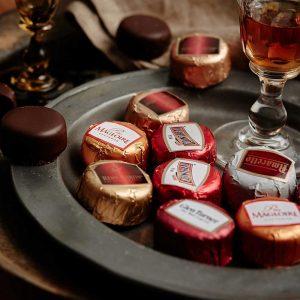 bombones rellenos de licor duc d'O gourmet leon