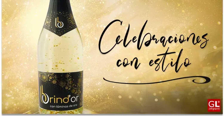 brindor laminas oro bebidas celebraciones gourmet leon