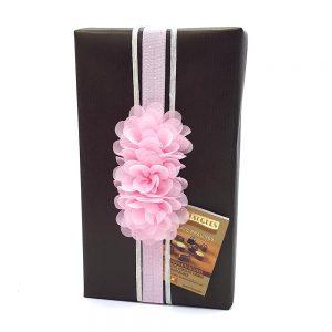 caja bombones regalo jacques flor rosa gourmet leon
