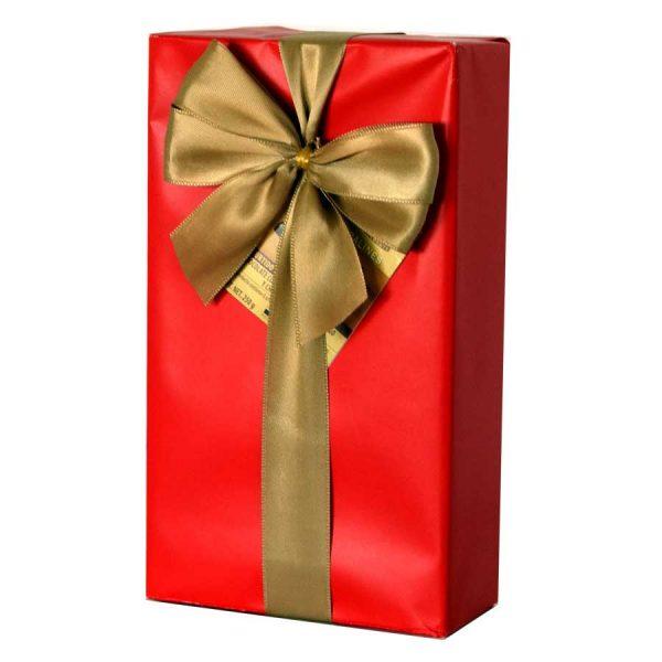caja chocolate regalo con lazo chocolates jacques gourmet leon
