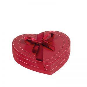 caja de bombones corazon