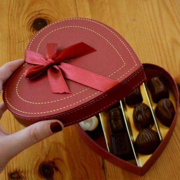 caja de bombones corazon regalar