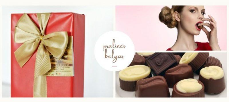 caja de bombones para regalar chocolates jacques gourmet leon