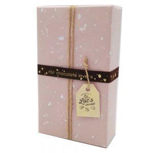 caja de bombones pralines belgas chocolover gourmet-leon