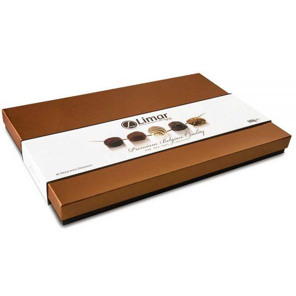 caja grande xl de bombones chocolate gourmet limar gourmet leon