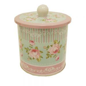 caja metalica vintage regalo para mujer gourmet leon