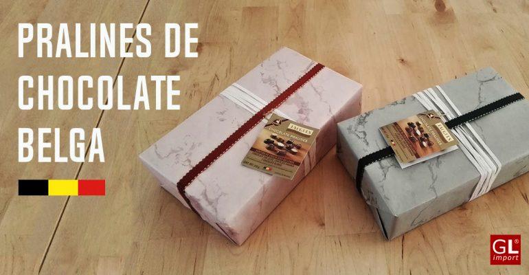 pralines chocolate belga para regalar
