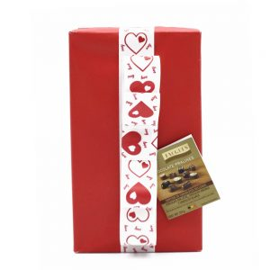 Caja de regalo san valentin gourmet leon