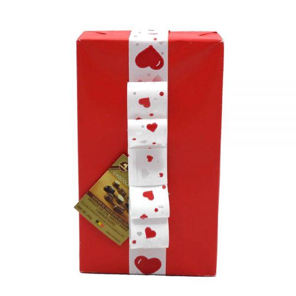 caja roja bombones san valentin gourmet leon