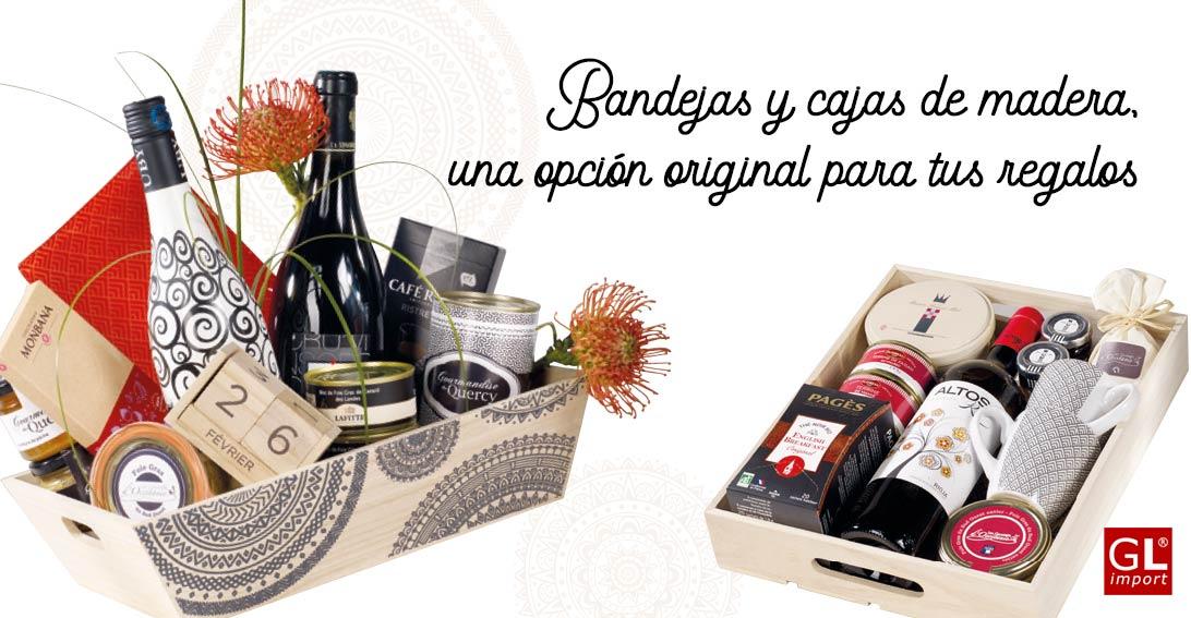 Cajas De Regalo De Madera Original Para Tus Cestas Y Lotes De Navidad