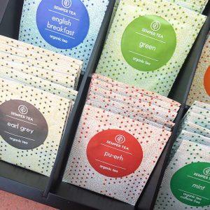 cajas infusiones bolsitas de te ECO Semper Tea gourmet leon