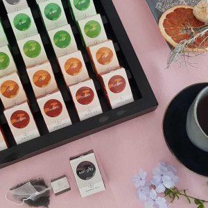 cajas infusiones XXL 56 té pirámides ECO Semper Tea gourmet leon