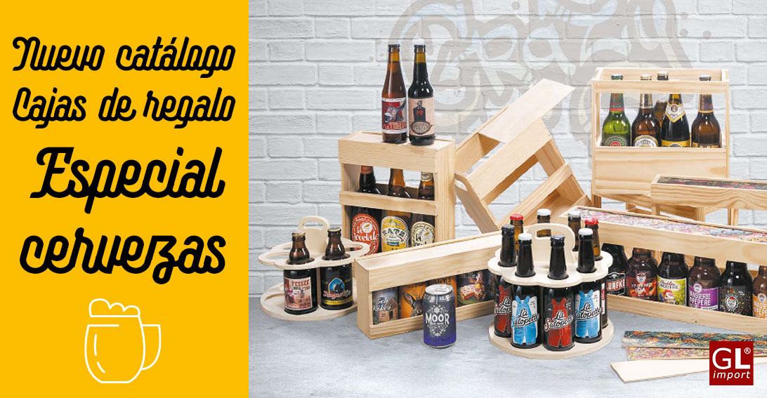 cajas para regalos cervezas gourmet leon