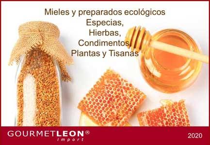 catalogo mieles especias complementos alimenticios tisanas