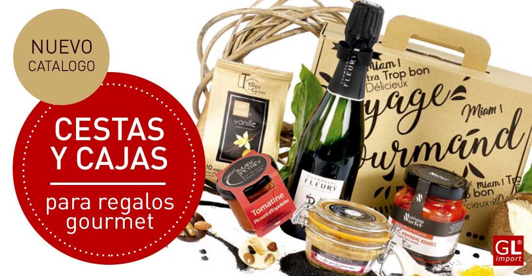 cestas cajas regalo gourmet