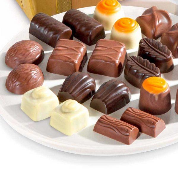chocolate belga surtido autenticos bombones duc do gourmet leon