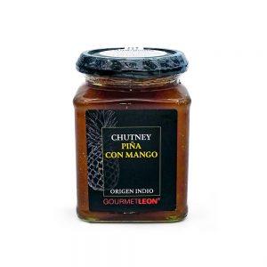 chutney de pina con mango salsa gourmet leon