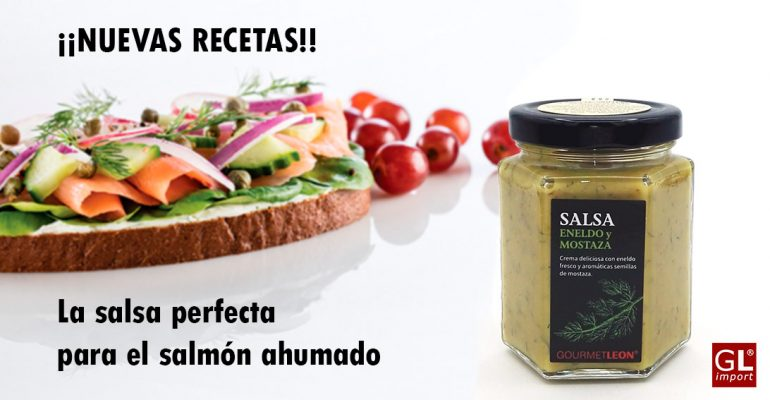 salsa eneldo y mostaza para salmon gourmet leon