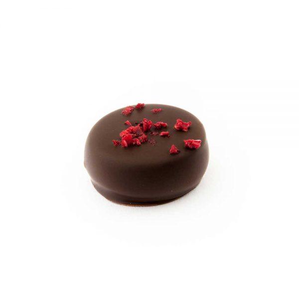 Comprar Bombones granel | Bombón chocolate con frambuesas