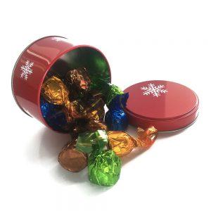 comprar bombones surtidos lata navidad gourmet leon