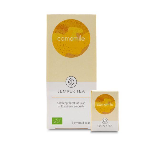 comprar manzanilla camomila natural ecologica en piramides semper tea