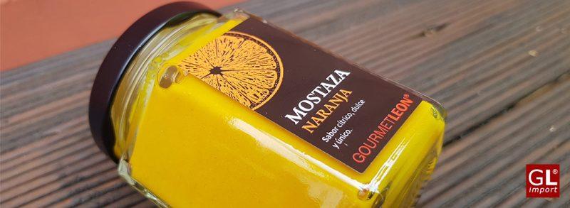 mostaza con naranja gourmet leon
