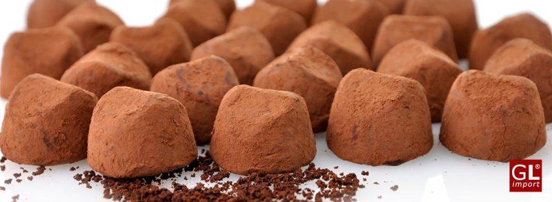 Trufas con cacao doble en polvo de Gudrun la experiencia más dulce