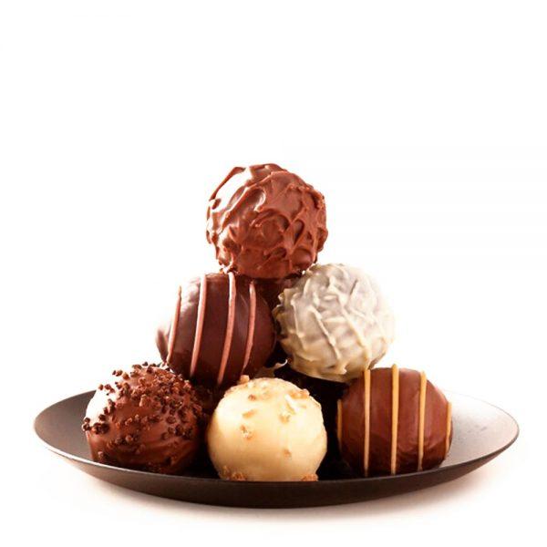 comprar trufas de chocolate surtidas gourmet leon