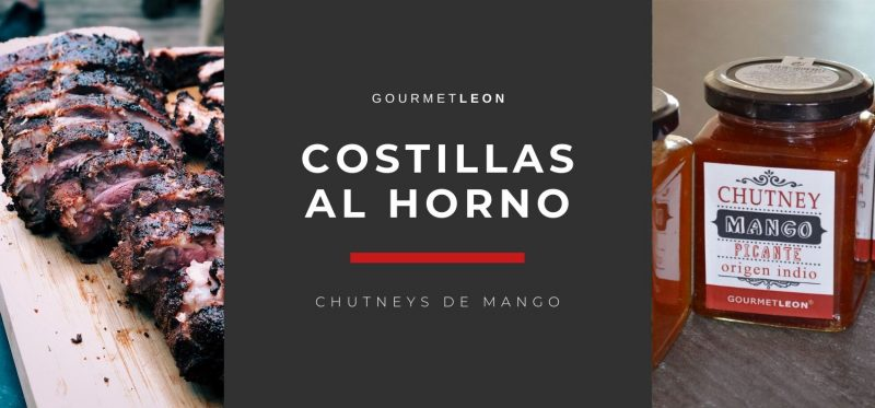 Costillas Al Horno Con Chutneys De Mango
