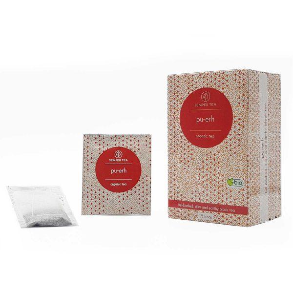 donde comprar te rojo pu erh ecologico en bolsa semper tea