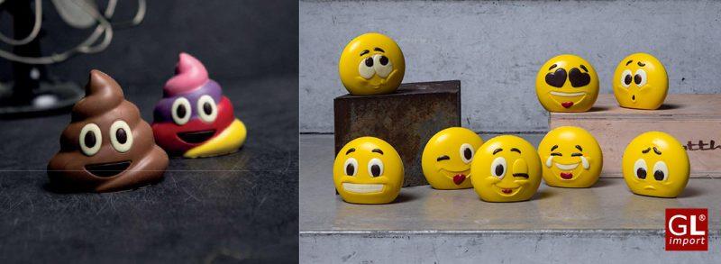 emojis de chocolate regalos originales distribuidor gourmet leon