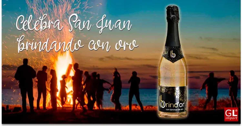 fiesta san juan vino con oro gourmet leon