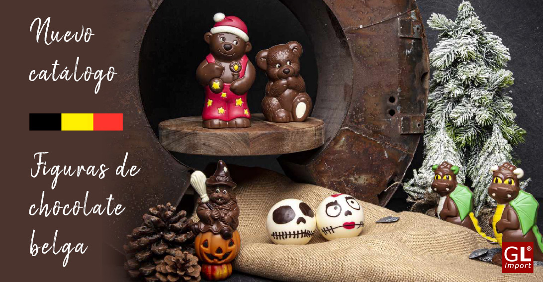 figuras de chocolate belga regalos navidad gourmet leon