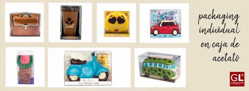 figuras de chocolate regalos originales distribuidor gourmet leo