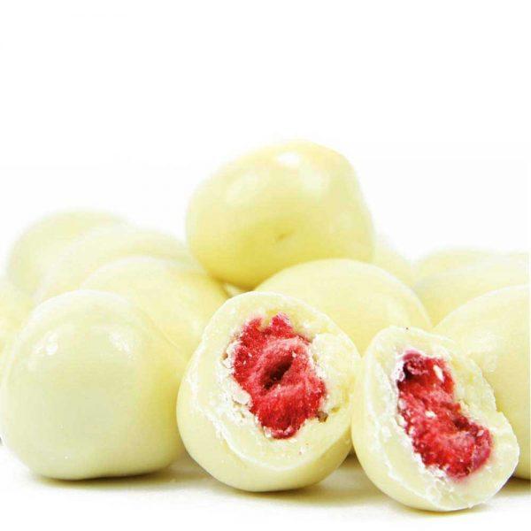 fresas en chocolate blanco gourmet leon