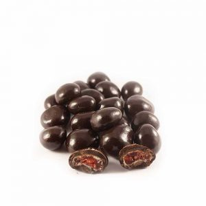 fresas con chocolate negro gourmet leon