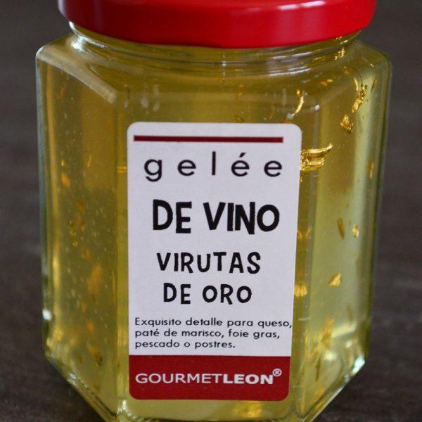 gelee de vino con oro jalea de vino alta cocina