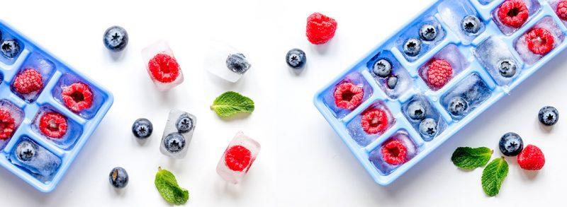 hielos de fruta para infusion pasion fruta semper tea