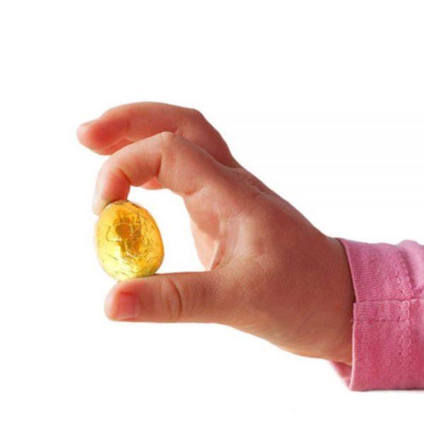 Comprar por internet Mini Huevos de chocolate a granel en caja Pascua